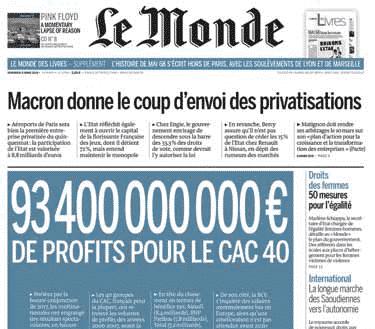 Profits CAC40