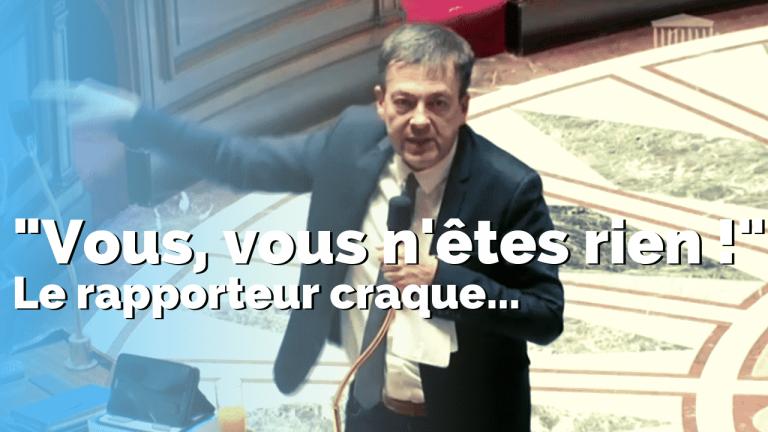 Retraites : le rapporteur craque