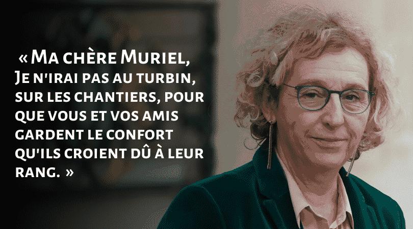 """""""Je n'irai pas au turbin pour vous"""", un ouvrier écrit à Muriel Pénicaud"""