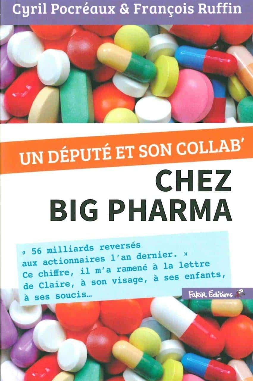 """""""Un député chez Big Pharma"""", la couverture du livre de François Ruffin"""