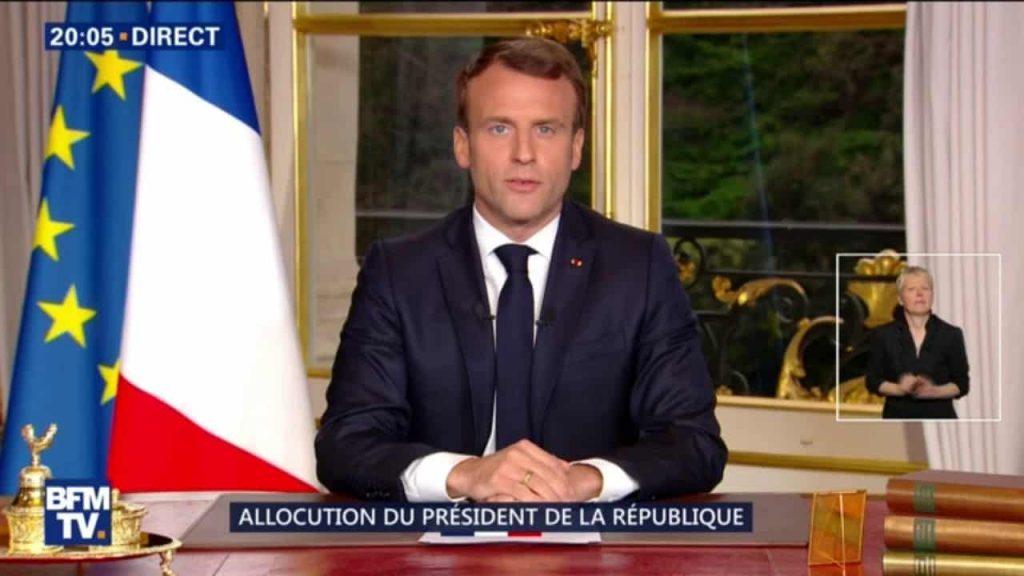 La santé : Allocutation d'Emmanuel Macron