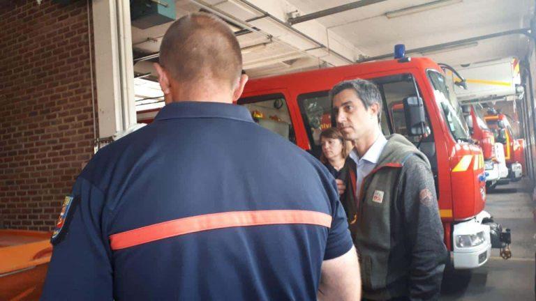 François Ruffin pompiers