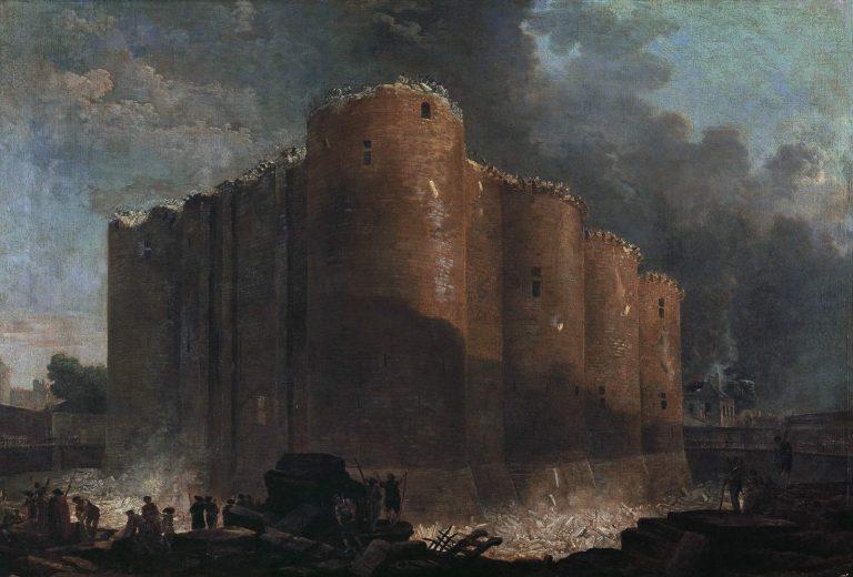 La Bastille, Dans Les Premiers Jours De Sa DÈmolition